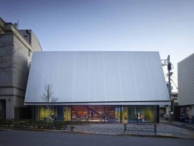 Здание бутика Miu Miu в Токио от дизайнеров Jacques Herzog и Pierre de Meuron