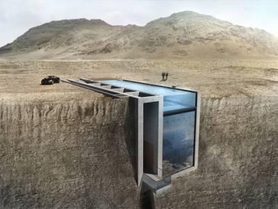 OPA представила концепт резиденции на скалах над Эгейским морем