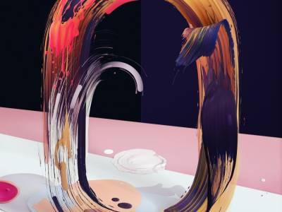"""""""Атипичный"""" шрифт от польского художника Павла Нолберта (Pawel Nolbert)"""