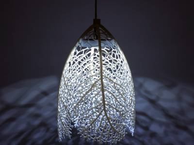 3d лампы Hyphae Lamp