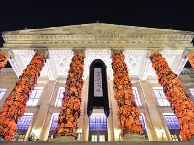 Инсталляция художника Ai Weiwei в Берлине