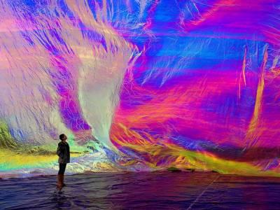 """Инсталляция """"Поэтический космос дыхания"""" от Томаса Сарасено (Tomas Saraceno)"""