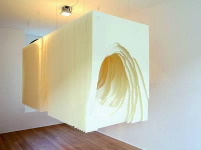 Светящиеся пещеры из бумаги Анжелы Глэйкар (Angela Glajcar)