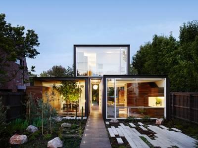 Дом с открытой планировкой в Мельбурне
