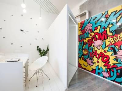 Креативный офис дизайн-студии DekoRatio в Будапеште