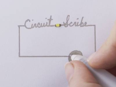 Circuit Scribe - ручка для рисования электронных схем на бумаге