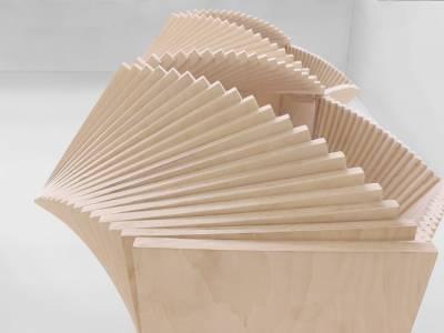 Wave Cabinet - шкаф-трансформер от художника Себастьяна Эрразуриса (Sebastian ErraZuriz)