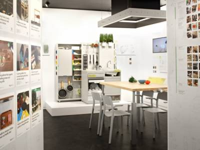 На кухне будущего IKEA нет холодильника, зато нашлось место дрону