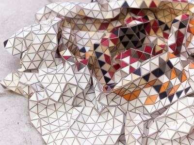 Деревянные ковры Элизы Строжик(Eliza Strozyk)