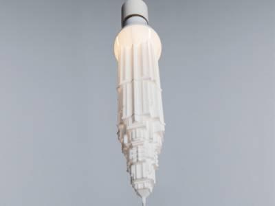 Лампы в виде небоскребов от дизайнера Дэвида Граас