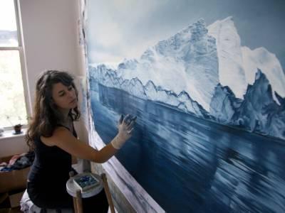 Реалистичная живопись Зарии Форман (Zaria Forman)