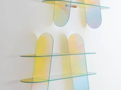 Стеклянный дизайн мебели от Patricia Urquiola
