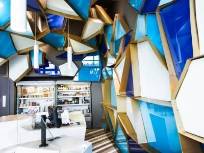 Необычный рыбный магазин от дизайнера Jean de Lessard (Жан де Лессар)