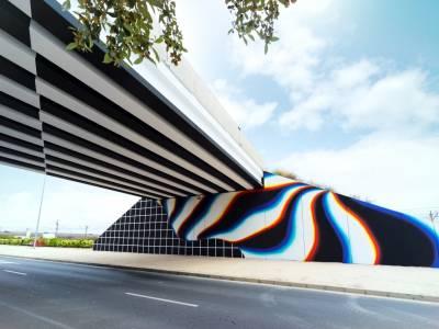 Уличный художник Фелип Пантон(Felipe Pantone)