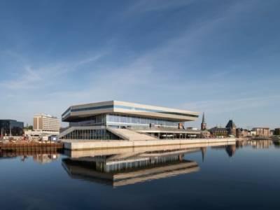 В Schmidt Hammer Lassen объяснили важность здания многоугольной библиотеки в Дании