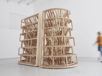 Скульптура из дерева от двух талантливых дизайнеров  Лауры Элен Бэкон и Себастьяна Кокса