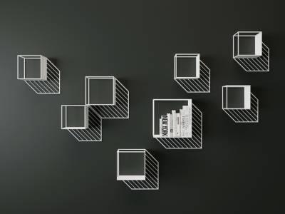 Геометрическая мебель дизайнера Дмитрия Козиненко
