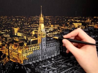 Ночные города дизайн-студии Lago