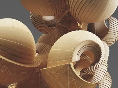 Объёмные скульптуры Кристофа Бадера