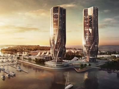 Заха Хадид поделилась планом строительства скульптурных башен в Австралии