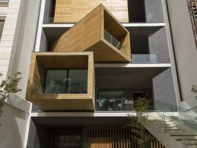 Вращающийся дом Sharifi-Ha от дизайн-студии Nextoffice