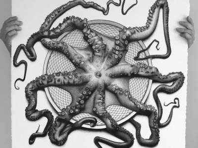 Фотореалистичные рисунки австралийской художницы CJ Hendry