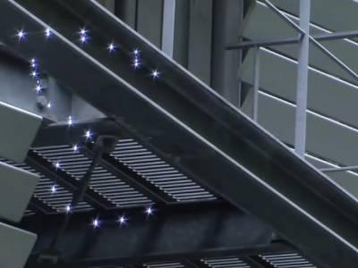 Технология трехмерного воздушного проецирования изображений от японской компании Aerial Burton