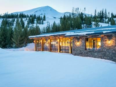 Уютный домик в штате Монтана от компании Pearson Design Group