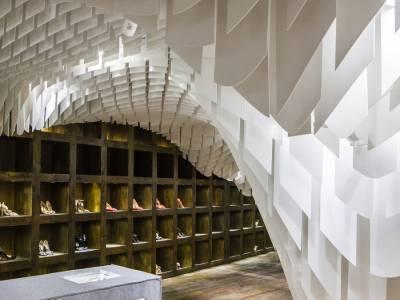 Модный бутик SND Concept Store от группы архитекторов 3GATTI