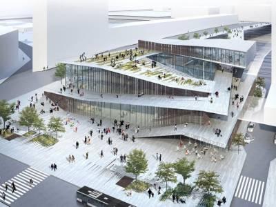 Кенго Кума показал план новой станции метрополитена в Париже