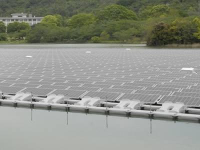 В Японии запустили крупнейшую плавучую солнечную электростанцию