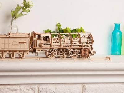 UGEARS: самоходные механические модели из дерева