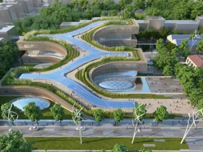 Архитектурный проект «Город науки» в Риме