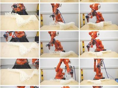 Команда Curvoxels создает ажурную мебель по новой технологии 3D-печати
