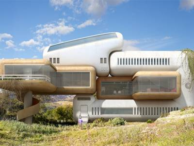 Дионисио Гонсалес показал возможное равновесие между природой и архитектурой