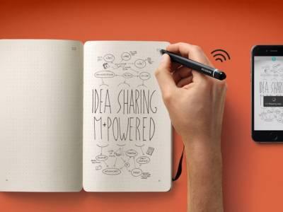 Блокнот Smart Writing Set от компании Moleskine