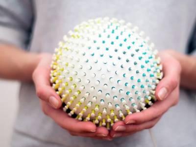 Sressball - шар-антистресс от Симоны Шрамм