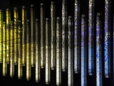Фотоинсталляции из светодиодных ламп от Clint Baclawski