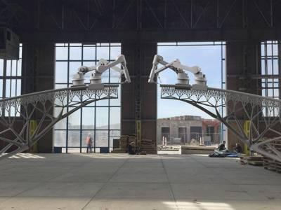 Стальной мост в центре Амстердама создадут с помощью технологии 3D-печати