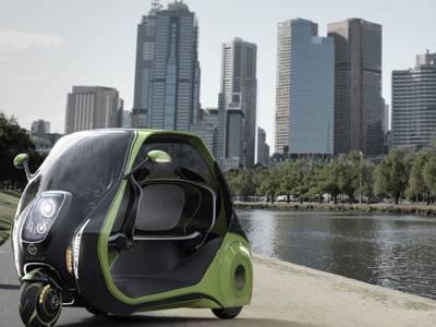 LINDO — концепт электротривиллера для борьбы с автомобильными пробками