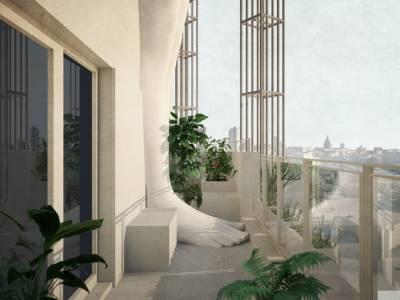 Концепт небоскреба, который поможет пережить постапокалиптическое будущее