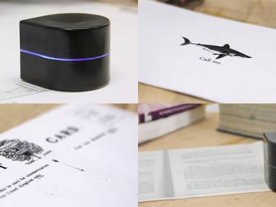 Портативный роботизированный принтер от Zuta Labs