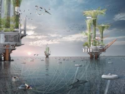 «Оазис Ноя», или мы сделаем в будущем с нефтяными платформами