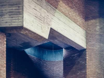 """""""Внутри бетонного креста"""" - архитектурный фото-проект Florian Mueller"""