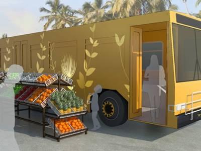 Старые городские автобусы предложили превратить в мобильные приюты для бездомных
