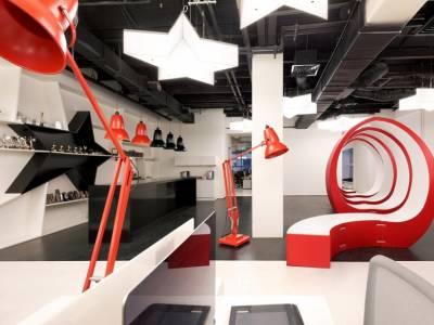 Офис рекламного агентства Leo Burnett от дизайн-студии Hassell