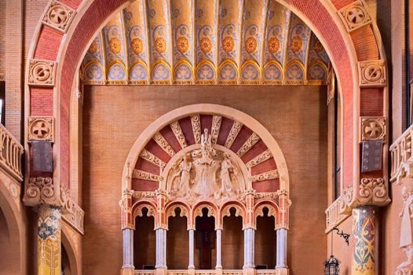 Больница Святого Павла вернула к жизни арт-модерн в Барселоне