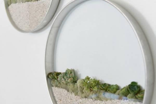 Настенные декоративные кашпо от флориста Кима Фишера (Kim Fisher)