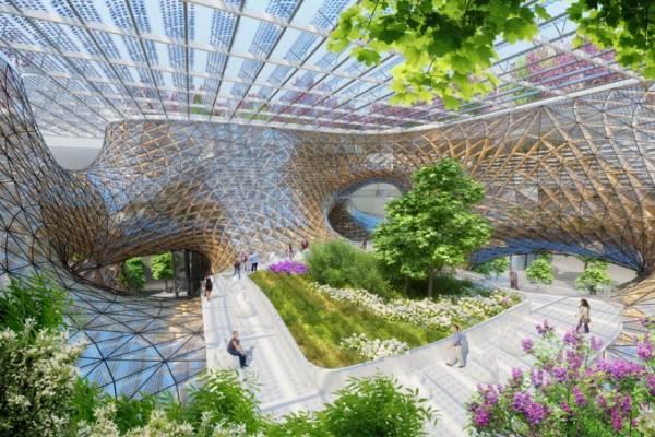 Vincent Callebaut Architectures показали проект «Деревянной орхидеи»
