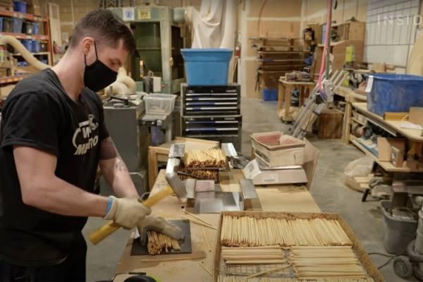 Chopvalue перерабатывают палочки для еды в мебель и бытовые товары